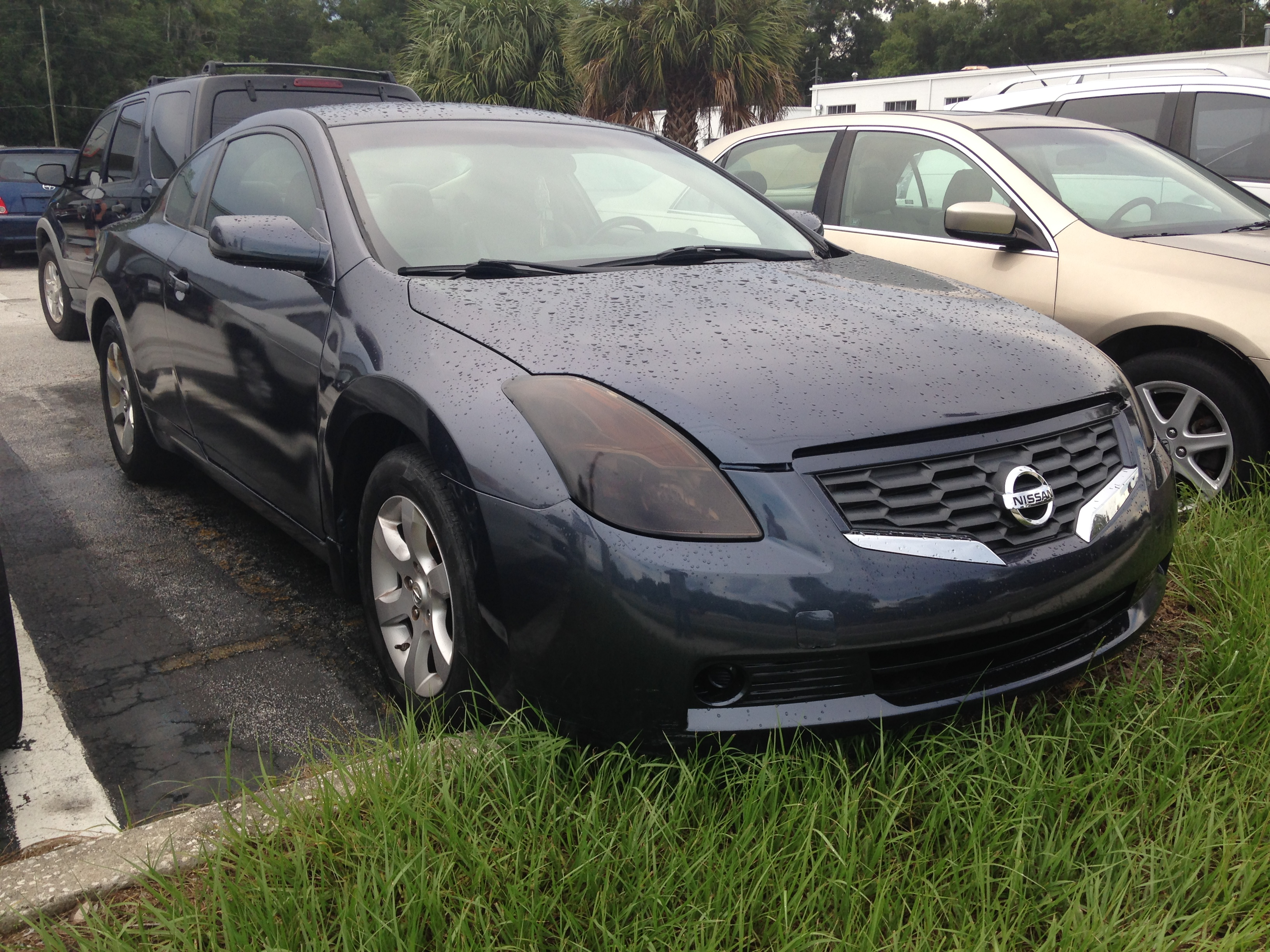 Nissan Altima 2.5 S Coupe 2008 # 288129